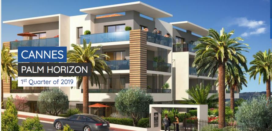 Программа нового строительства. канны ла бокка. 2х - 4х комнатные апартаменты с видом на море